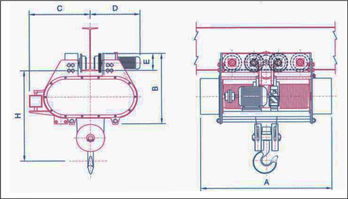 Hi-Tech Cranes & Hoist Manufacturer & Exporter | eot crane ...